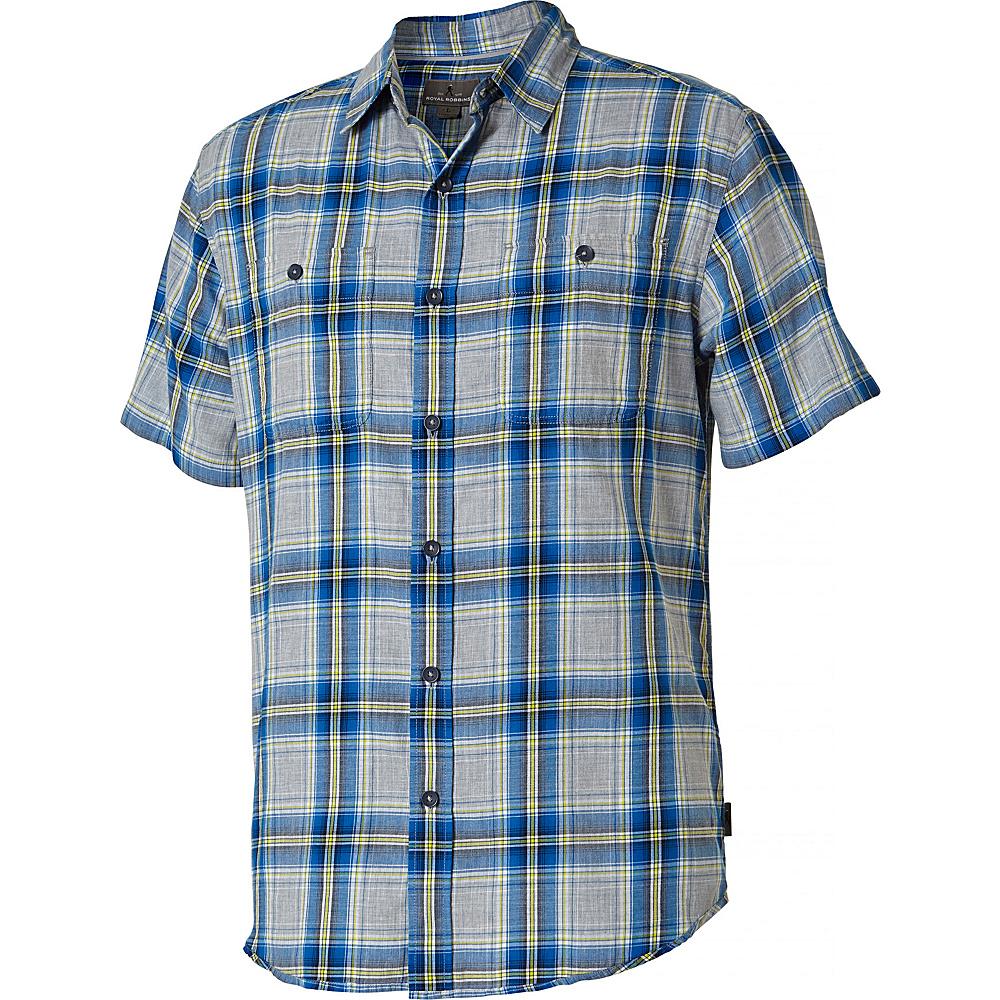 Royal Robbins PoMens int Reyes Plaid Short Sleeve Shirt L - Oceania - Royal Robbins Mens Apparel - Apparel & Footwear, Men's Apparel