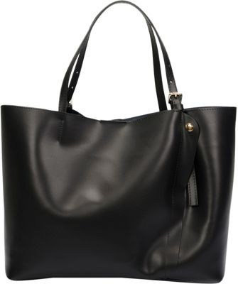 Lisa Minardi Leather Shoulder Bag Black - Lisa Minardi Leather Handbags