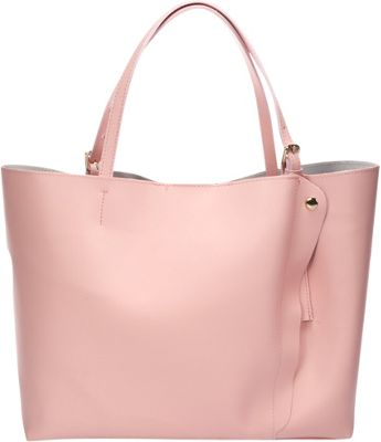 Lisa Minardi Leather Shoulder Bag Rose - Lisa Minardi Leather Handbags