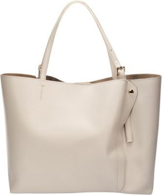 Lisa Minardi Leather Shoulder Bag Taupe - Lisa Minardi Leather Handbags