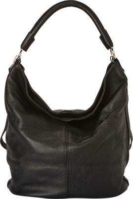 Massimo Castelli Shoulder Bag Black - Massimo Castelli Leather Handbags