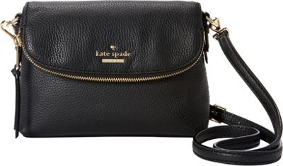 kate spade new york Jackson Street Small Harlyn Crossbody Black - kate spade new york Designer Handbags