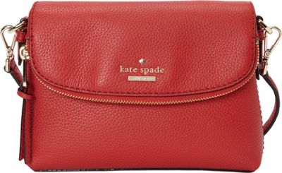 kate spade new york Jackson Street Small Harlyn Crossbody Red Carpet - kate spade new york Designer Handbags