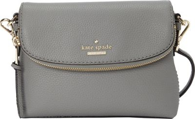 kate spade new york Jackson Street Small Harlyn Crossbody Willow - kate spade new york Designer Handbags