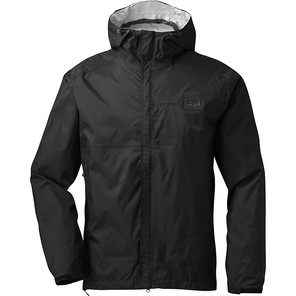 Outdoor Research Mens Horizon Jacket M - Black - Outdoor Research Mens Apparel - Apparel & Footwear, Men's Apparel