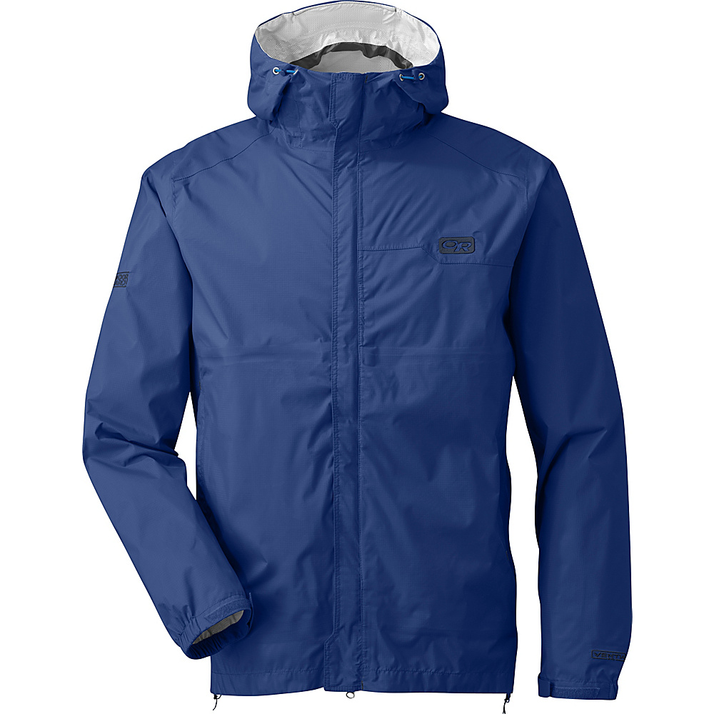 Outdoor Research Mens Horizon Jacket L - Baltic - Outdoor Research Mens Apparel - Apparel & Footwear, Men's Apparel