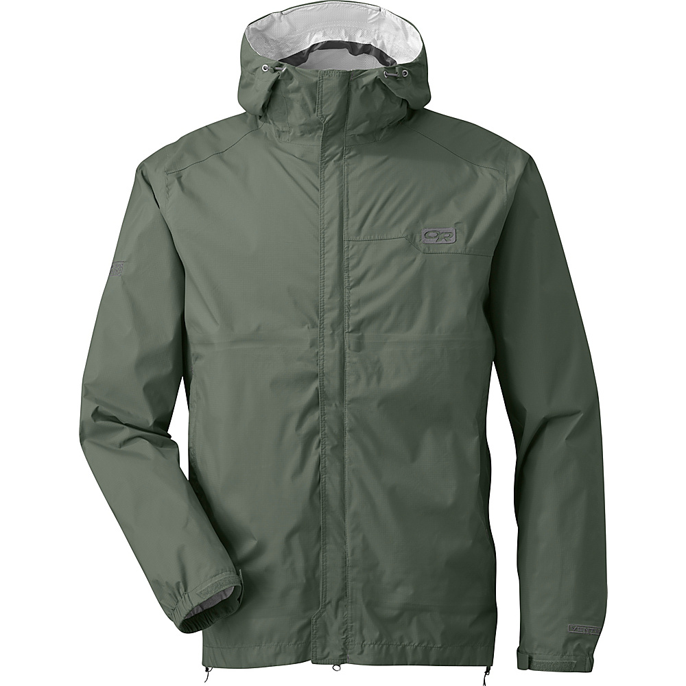 Outdoor Research Mens Horizon Jacket XXL - Sage - Outdoor Research Mens Apparel - Apparel & Footwear, Men's Apparel