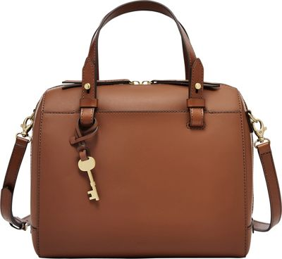 Fossil Rachel Satchel Brown - Fossil Leather Handbags