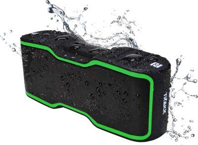 TRAKK Wave Waterproof 20w TWS Technology Bluetooth Speaker Green - TRAKK Headphones & Speakers