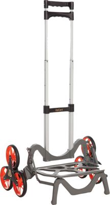 UpCart Deluxe Stair-Climbing Foldable Cart Black - UpCart Luggage Accessories