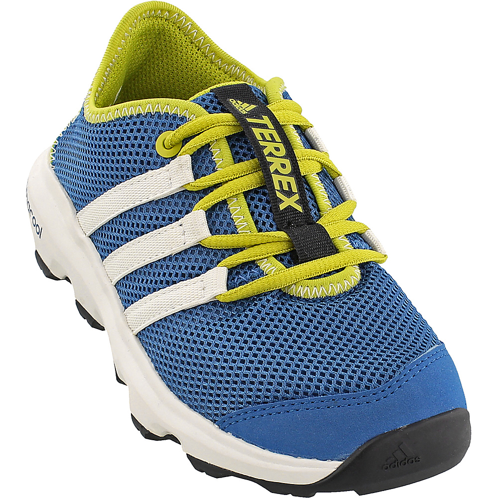 adidas outdoor Kids Terrex Climacool Voyager Shoe 12.5 (US Kids) - Core Blue/Chalk White/Unity Lime - adidas outdoor Mens Footwear - Apparel & Footwear, Men's Footwear