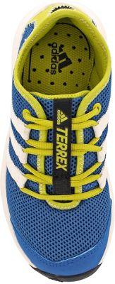 adidas outdoor Kids Terrex Climacool Voyager Shoe 4 (US Kid's) - Black/Chalk White/Core Green - adidas outdoor Men's Footwear