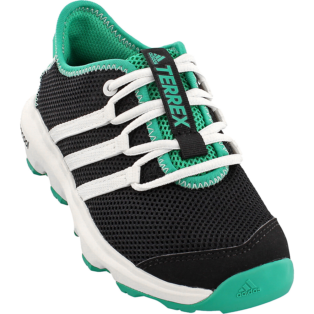adidas outdoor Kids Terrex Climacool Voyager Shoe 4.5 (US Kids) - Black/Chalk White/Core Green - adidas outdoor Mens Footwear - Apparel & Footwear, Men's Footwear