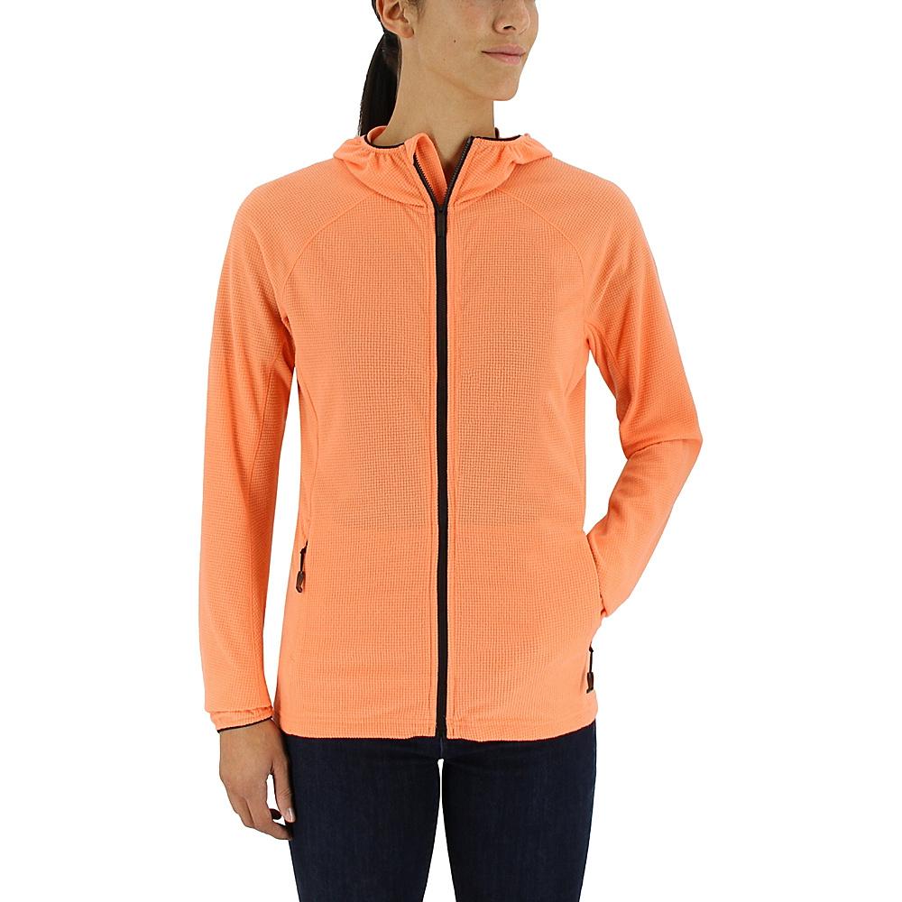 adidas outdoor Womens Tracerocker Fleece Hoodie S - Easy Orange - adidas outdoor Womens Apparel - Apparel & Footwear, Women's Apparel