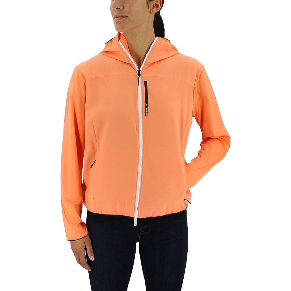 adidas outdoor Womens Voyager Jacket S - Easy Orange - adidas outdoor Womens Apparel - Apparel & Footwear, Women's Apparel