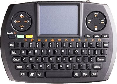 SMK-Link Wireless Ultra-Mini Touchpad Keyboard Black - SMK-Link Portable Entertainment