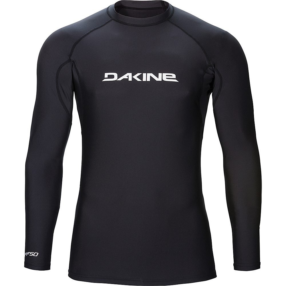 DAKINE Mens Heavy Duty Snug Fit Long Sleeve L - Black - DAKINE Mens Apparel - Apparel & Footwear, Men's Apparel
