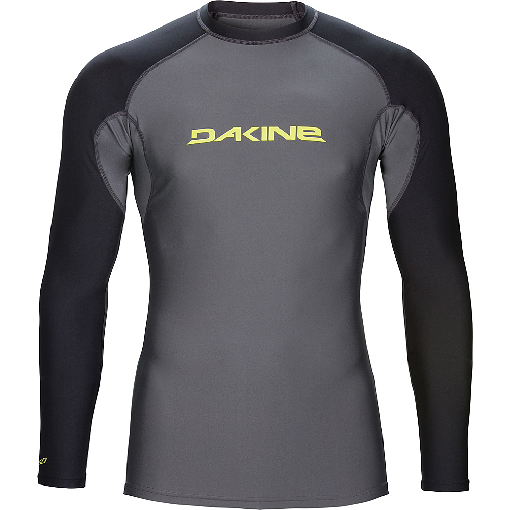 DAKINE Mens Heavy Duty Snug Fit Long Sleeve S - Gunmetal - DAKINE Mens Apparel - Apparel & Footwear, Men's Apparel