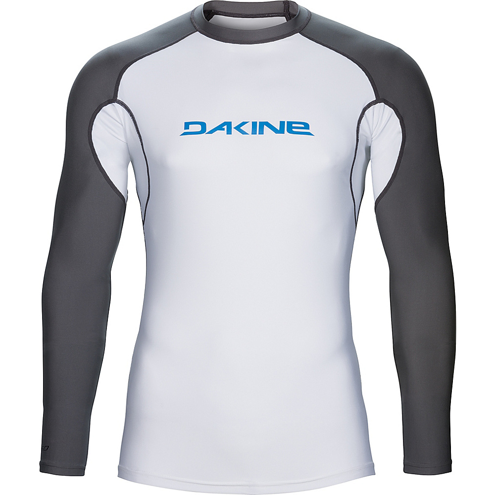 DAKINE Mens Heavy Duty Snug Fit Long Sleeve XXL - White - DAKINE Mens Apparel - Apparel & Footwear, Men's Apparel