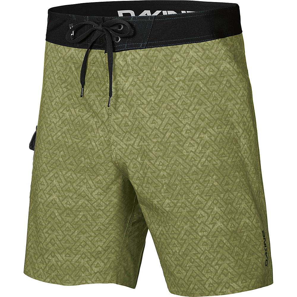 DAKINE Mens Broadhead Boardshort 32 - Olive Branch - DAKINE Mens Apparel - Apparel & Footwear, Men's Apparel