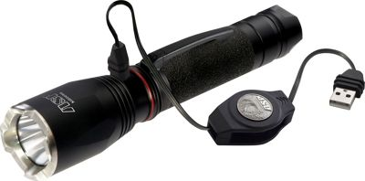 ASP Turbo Rechargeable Light Black - ASP Outdoor Accessories