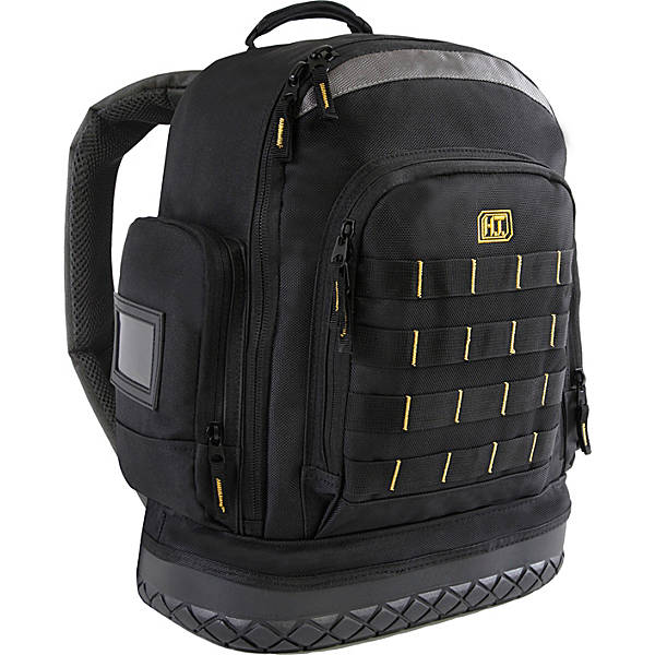 Highland Tactical Task Hard Bottom Tool Backpack With