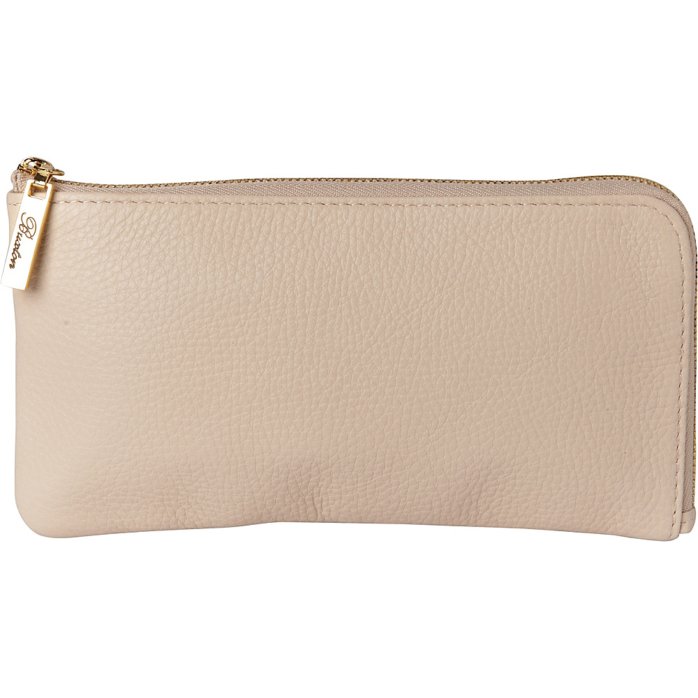 Buxton Florence L-Zip White - Buxton Womens Wallets - Women's SLG, Women's Wallets