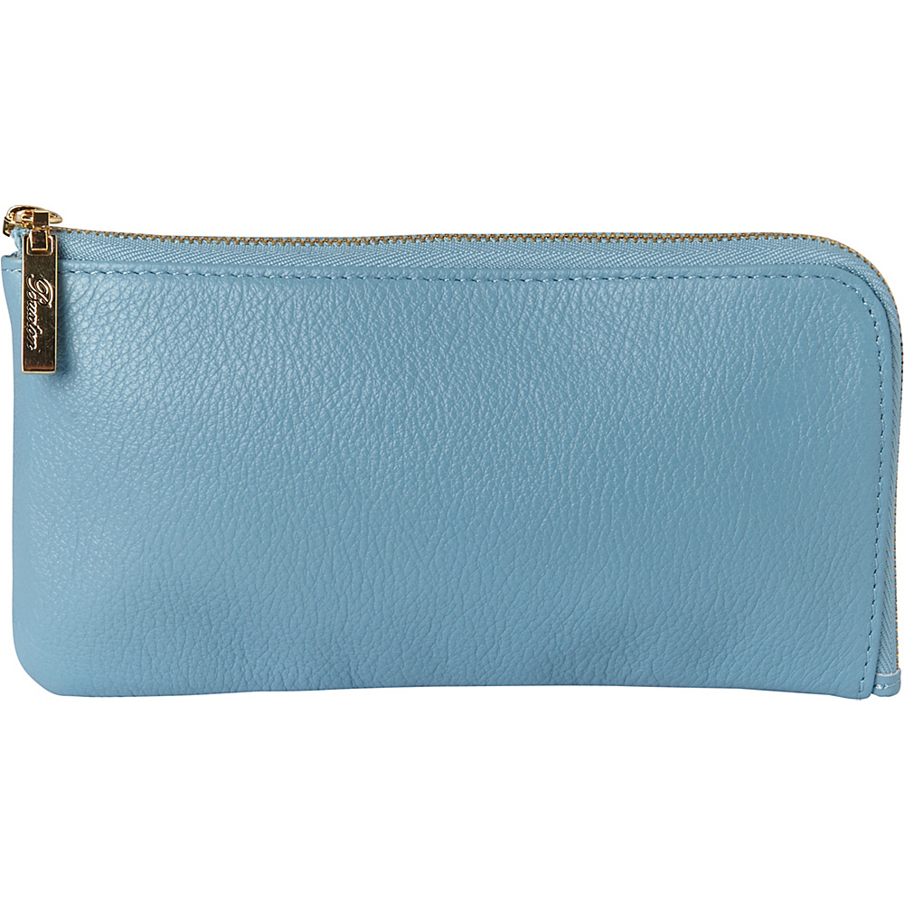 Buxton Florence L-Zip Ocean Blue - Buxton Womens Wallets - Women's SLG, Women's Wallets