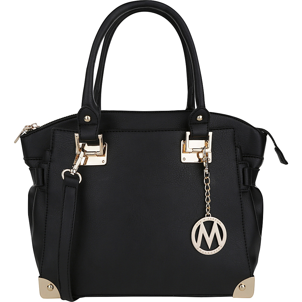 MKF Collection Mior Tote with Shoulder Strap Black - MKF Collection Manmade Handbags - Handbags, Manmade Handbags