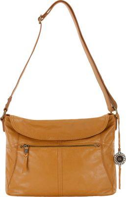 The Sak Esperato Flap Hobo- Seasonal Colors Ochre - The Sak Leather Handbags