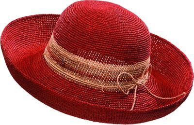 Helen Kaminski Provence 12 De Stijl Hat One Size - Crimson Stripe - Helen Kaminski Hats