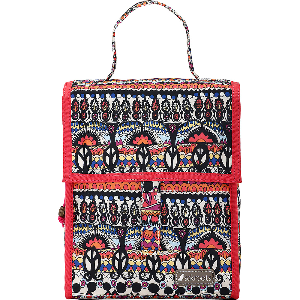 Sakroots Artist Circle Packable Lunch Bag Camel One World - Sakroots Travel Coolers - Travel Accessories, Travel Coolers