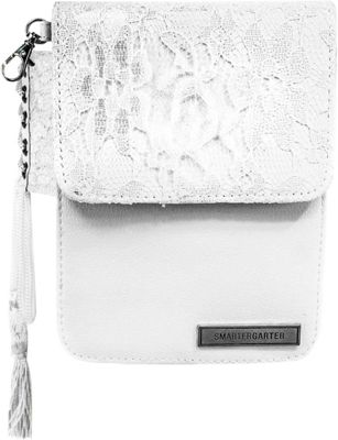 SmarterGarter Chantilly 4.0 Hands-Free Purse White Lace - One Size Fits All - SmarterGarter Manmade Handbags