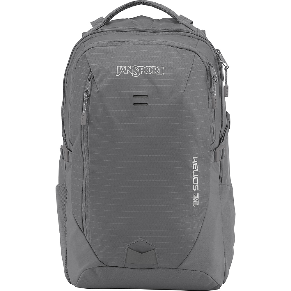 JanSport Helios 28 Laptop Backpack Shady Grey - JanSport Laptop Backpacks