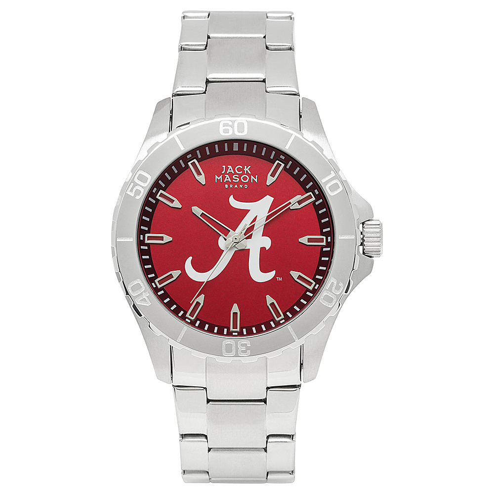 Jack Mason League NCAA Team Color Dial Bracelet Watch Arkansas Razorbacks - Jack Mason League Watches - Fashion Accessories, Watches