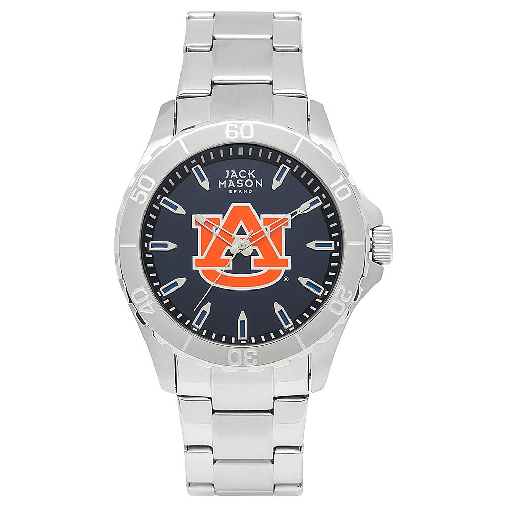 Jack Mason League NCAA Team Color Dial Bracelet Watch Auburn Tigers - Jack Mason League Watches - Fashion Accessories, Watches