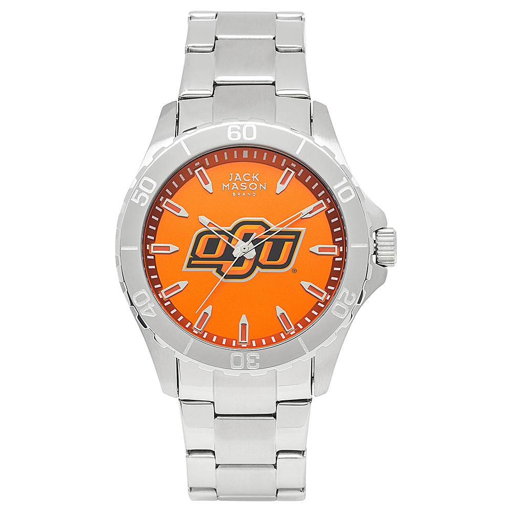 Jack Mason League NCAA Team Color Dial Bracelet Watch Oklahoma State Cowboys - Jack Mason League Watches - Fashion Accessories, Watches