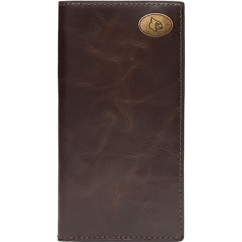 Jack Mason League NCAA Legacy Tall Wallet Louisville Cardinals - Jack Mason League Mens Wallets - Work Bags & Briefcases, Men's Wallets
