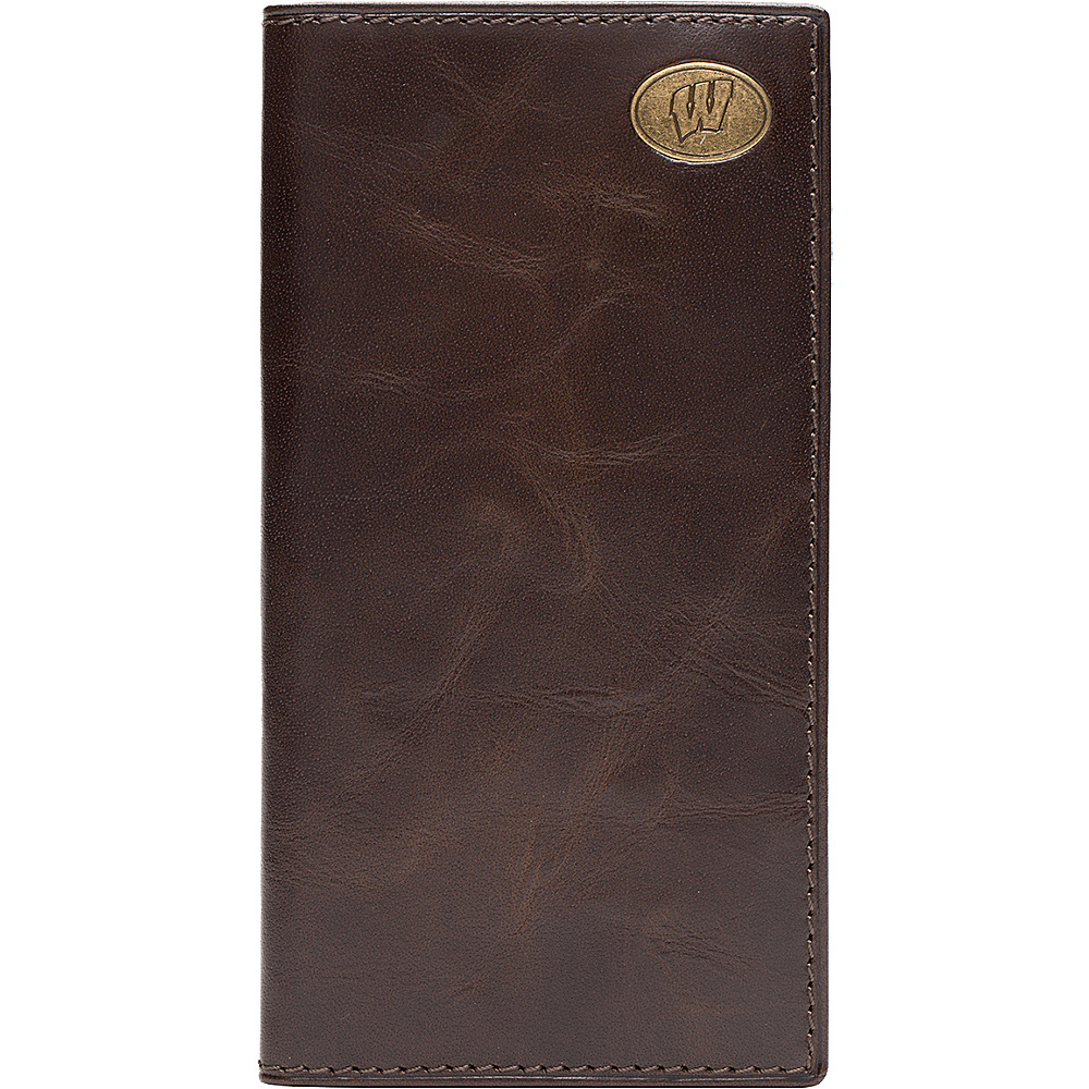 Jack Mason League NCAA Legacy Tall Wallet Wisconsin Badgers - Jack Mason League Mens Wallets - Work Bags & Briefcases, Men's Wallets