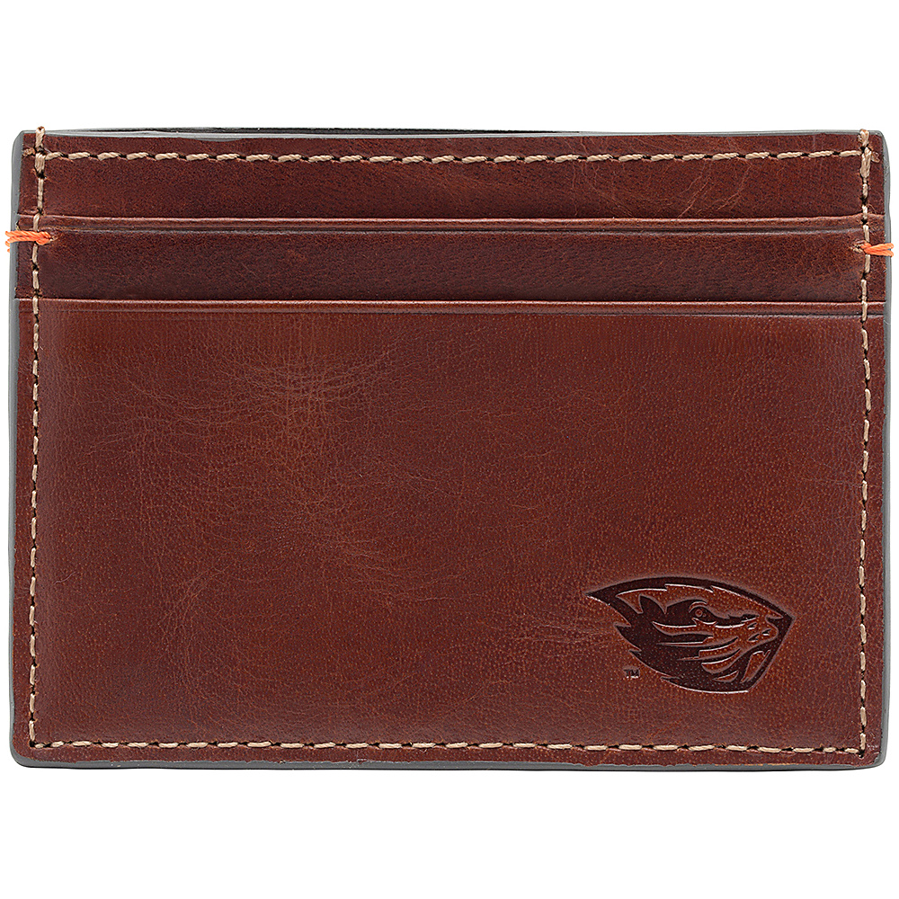Jack Mason League NCAA Hangtime Card Case Oregon State Beavers - Jack Mason League Mens Wallets - Work Bags & Briefcases, Men's Wallets