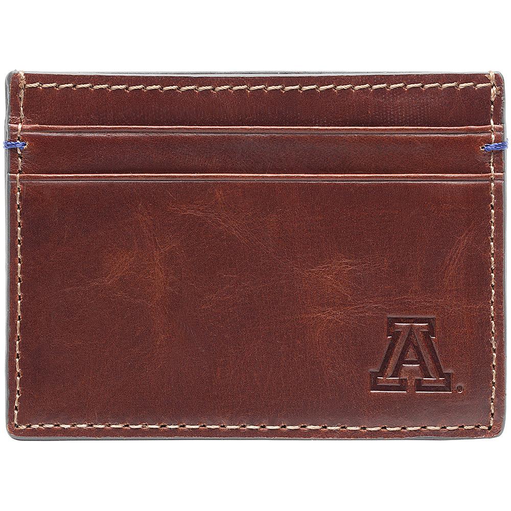 Jack Mason League NCAA Hangtime Card Case Arizona Wildcats - Jack Mason League Mens Wallets - Work Bags & Briefcases, Men's Wallets