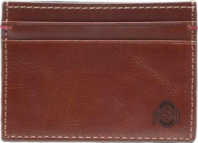Jack Mason League NCAA Hangtime Card Case Ohio State Buckeyes - Jack Mason League Men's Wallets