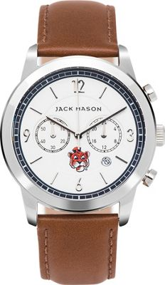 Jack Mason League NCAA Leather Chronograph Watch Auburn Tigers - Jack Mason League Watches