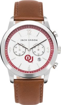 Jack Mason League NCAA Leather Chronograph Watch Oklahoma Sooners - Jack Mason League Watches