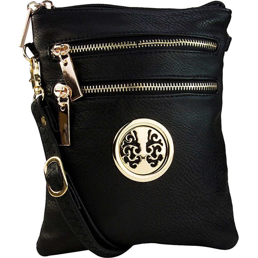 MKF Collection Arabelle Crossbody Black - MKF Collection Manmade Handbags - Handbags, Manmade Handbags
