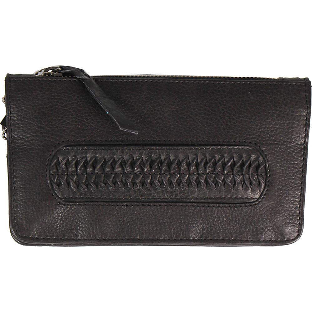 Latico Leathers Tyra Wallet Black - Latico Leathers Leather Handbags - Handbags, Leather Handbags