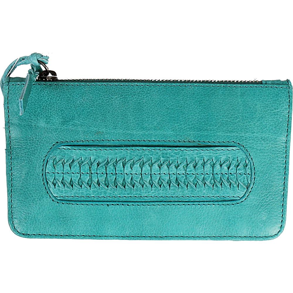 Latico Leathers Tyra Wallet Mint - Latico Leathers Leather Handbags - Handbags, Leather Handbags