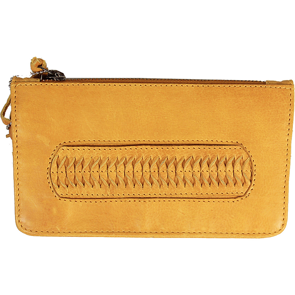 Latico Leathers Tyra Wallet Yellow - Latico Leathers Leather Handbags - Handbags, Leather Handbags