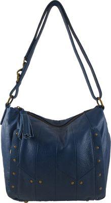 Joelle Hawkens by treesje Carley Hobo Lagoon Blue - Joelle Hawkens by treesje Leather Handbags