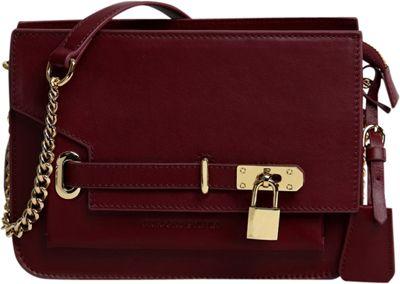 Gregory Sylvia Agnes Crossbody Oxblood - Gregory Sylvia Leather Handbags
